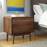 Brewington 2 Drawer Nightstand by George Oliver