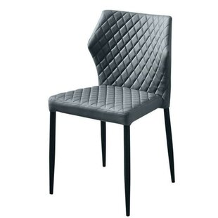 Kyrie Diamond Tufted Upholstered Dining Chair (Set of 4)