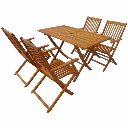 4-Sitzer Gartengarnitur BAKEWELL von GARTEN LIVING Akazie massiv