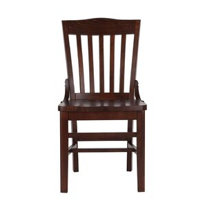 Mari Solid Wood Dining Chair Millwood Pines