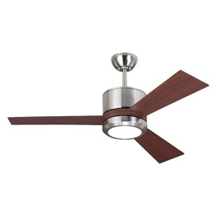 Best Reviews 42 Fort Hamilton 3 Blade LED Ceiling Fan with Remote By Ivy Bronx