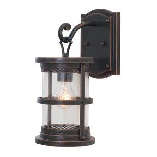 Clearance Hemlock 1-Light Outdoor Wall Lantern By Kalco