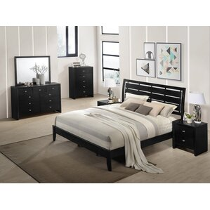 wood bedroom sets. Gloria Wood Panel Configurable Bedroom Set Solid Furniture  Wayfair