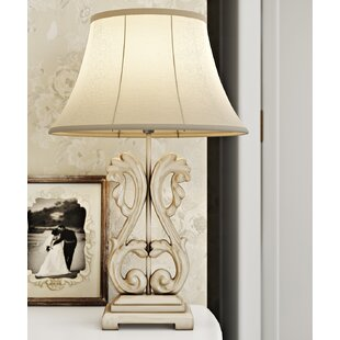 Liseron Ornate 58 cm Table Lamp by Lily Manor