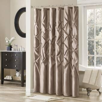 The Holiday Aisle Engstrom Single Shower Curtain Reviews Wayfair