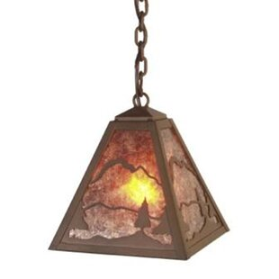 Shop For Timber Ridge 1-Light Outdoor Pendant By Steel Partners