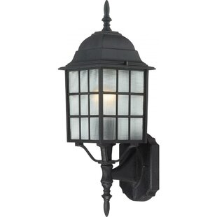 Affordable Price Sorrells 1-Light Outdoor Sconce By Charlton Home