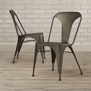 Spohn Flynn Stacking Patio Dining Chair (Set of 2) Trent Austin Design