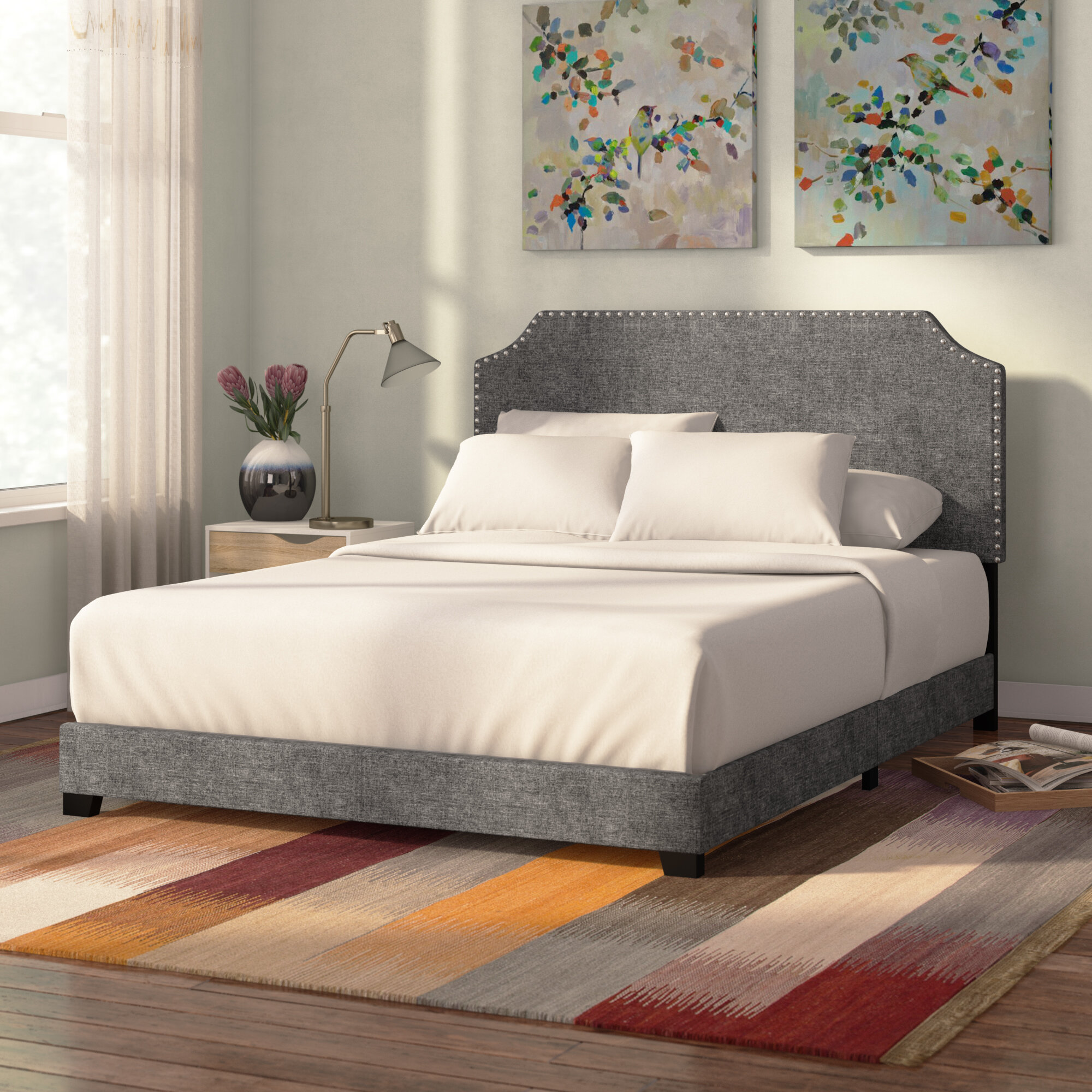 Zipcode Design Kyara Upholstered Panel Bed Reviews Wayfair