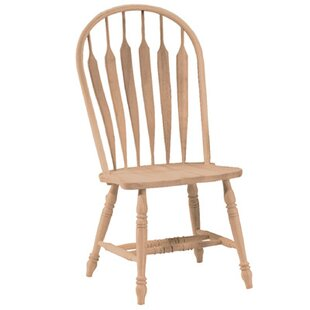 Madison Park Windsor Solid Wood Dining Chair by International Concepts Best Choices