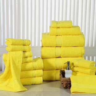 Woolf Luxurious Soft 100% Cotton 18 Piece Towel Set
