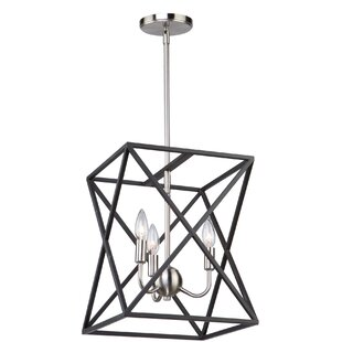 Elements 4-Light Lantern Chandelier by Ar..