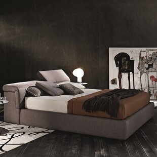 J&M Furniture Upholstered Storage Platform Bed