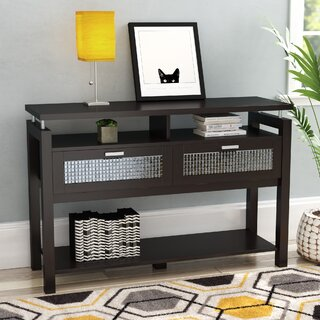 "Margaret 47.24"" Console Table by Latitude Run SKU:CA306031 Shop"