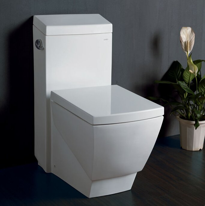 Apus Square 16 GPF Elongated One Piece Toilet