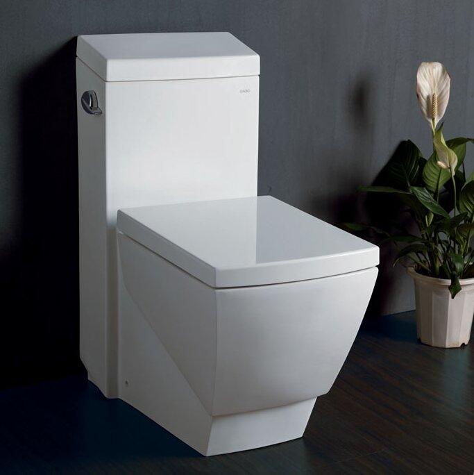 Apus Square 16 GPF Elongated One Piece Toilet