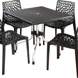 Escarcega Square Plastic Bistro Table
