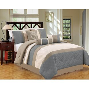 Andover Mills Malta 7 Piece Comforter Set