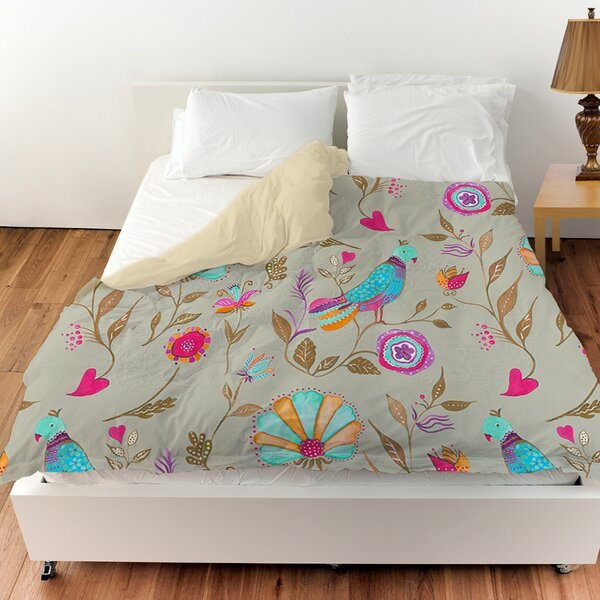bedroom white single teal bed bird with chic fitted set just duvet girls aqua blue sheet tree shabby cover product