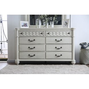 Aubrie 8 Drawer Double Dresser