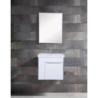 Ivy Bronx Tyne 30 Wall Mounted Single Bathroom Vanity Set Wayfair