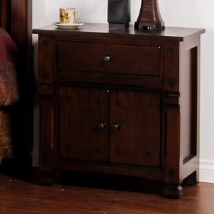 Loon Peak Fresno 1 Drawer Nightstand