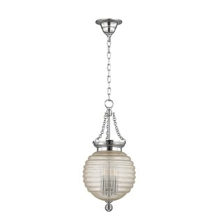 Brayden Studio Lazo 1-Light Urn Pendant
