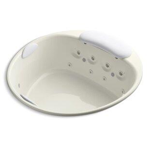Riverbath 66 x 66 Whirlpool Bathtub by Kohler