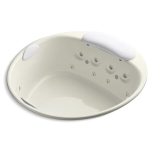 Riverbath 66 x 66 Whirlpool Bathtub by Kohler