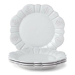 Alpine Carved Dinner Plate (Set of 4)