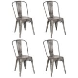 Tabouret Metal Chairs Wayfair