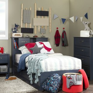 Ulysses Twin Mate's & Captain's Bunk Bed with Drawers by South Shore