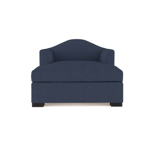 Canora Grey Aughalish Linen Chaise Lounge