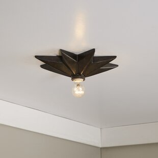 Star 1 Light Wall Sconce