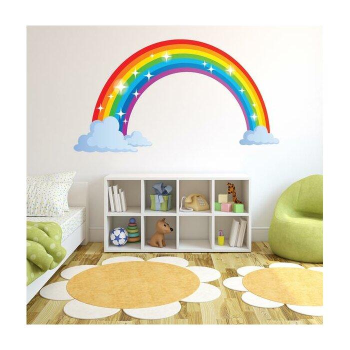 Sparkling Rainbow Wall Decal
