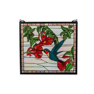 Hummingbird Stained Glass Wayfair