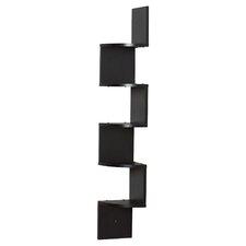 Black Corner Wall Shelf modern display + floating shelves | allmodern