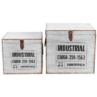 Starlet Metal 2 Piece Box Set By Williston Forge