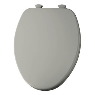 Trumbull Church Lift Off Wood Elongated Toilet Seat