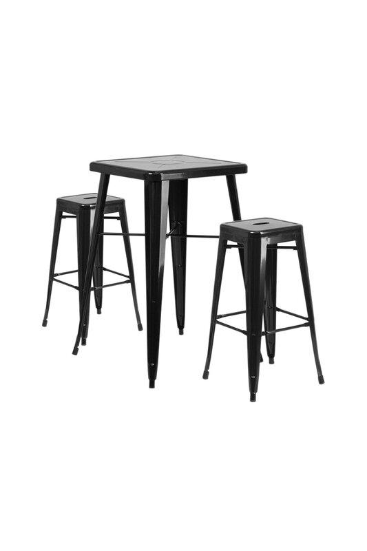 Trent Austin Design Jesse 3 Piece Bar Height Dining Set