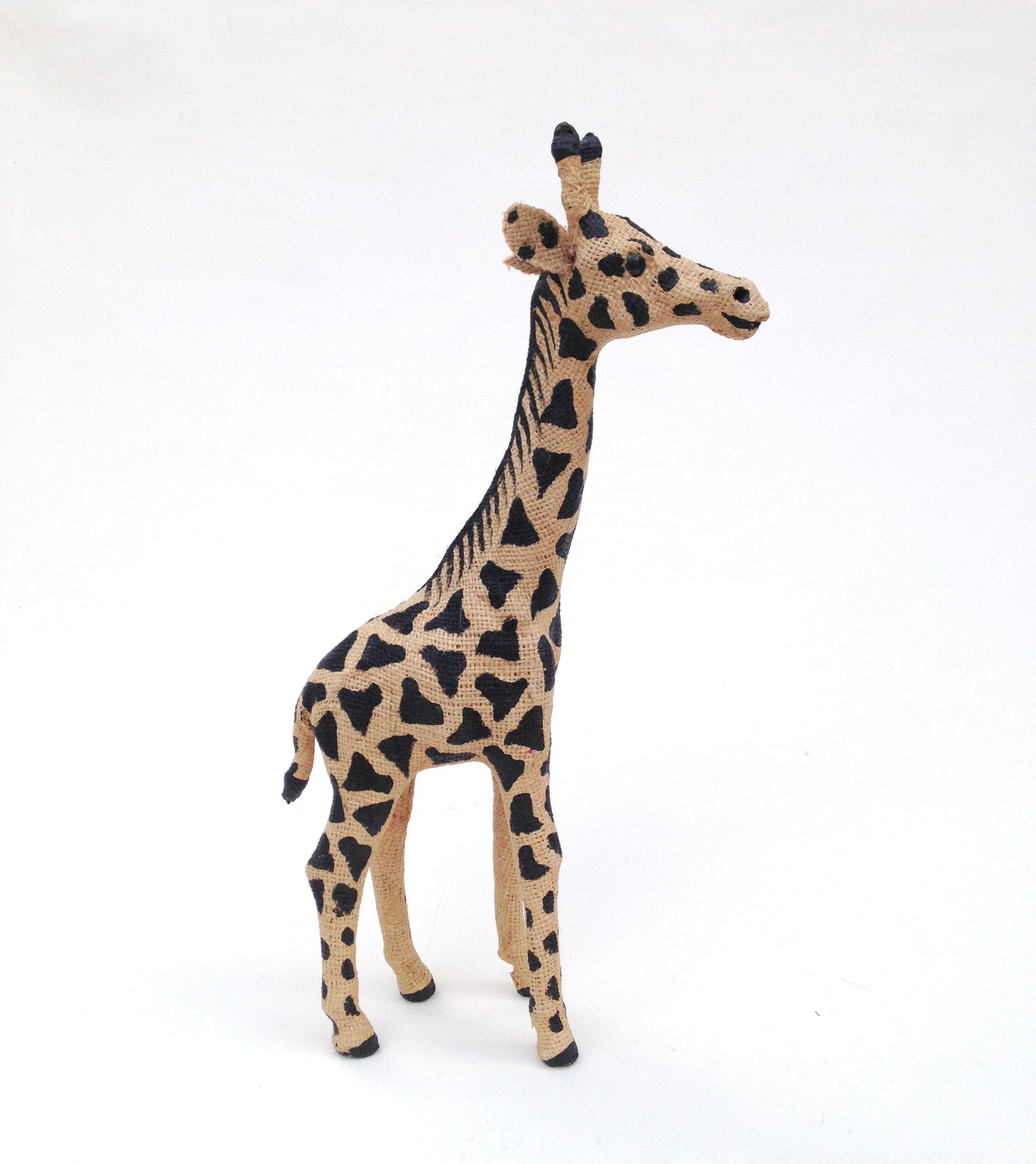 World Menagerie Leyba Small Jute Giraffe Figurine Wayfair