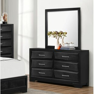 Oona 6 Drawer Double Dresser
