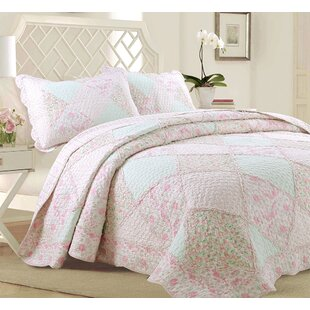 Banner 100% Cotton Reversible Quilt Set