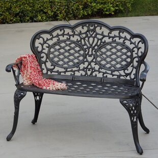 Appleby Aluminum Garden Bench by Astoria Grand