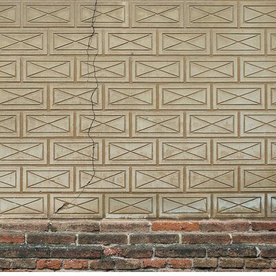 Cracked Brick Wallpaper Roll Coordonne