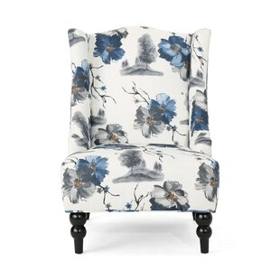 Charlton Home Jasmin Wingback Chair