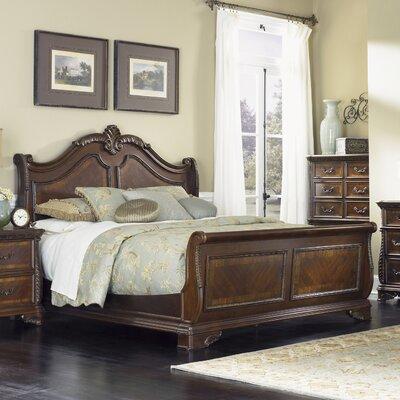 Herlinda Sleigh Bed Astoria Grand