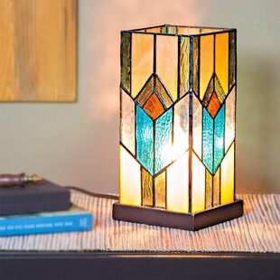 Critchlow Stained Glass 10.5 Table Lamp
