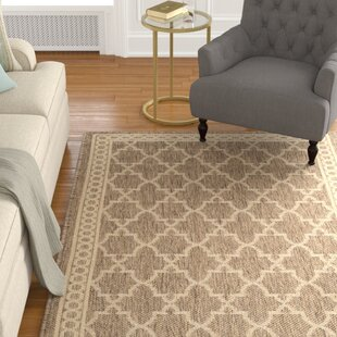Larson Beige Indoor/Outdoor Area Rug