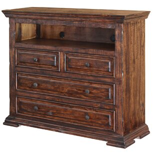 Millwood Pines Stradford 4 Drawer Media Chest